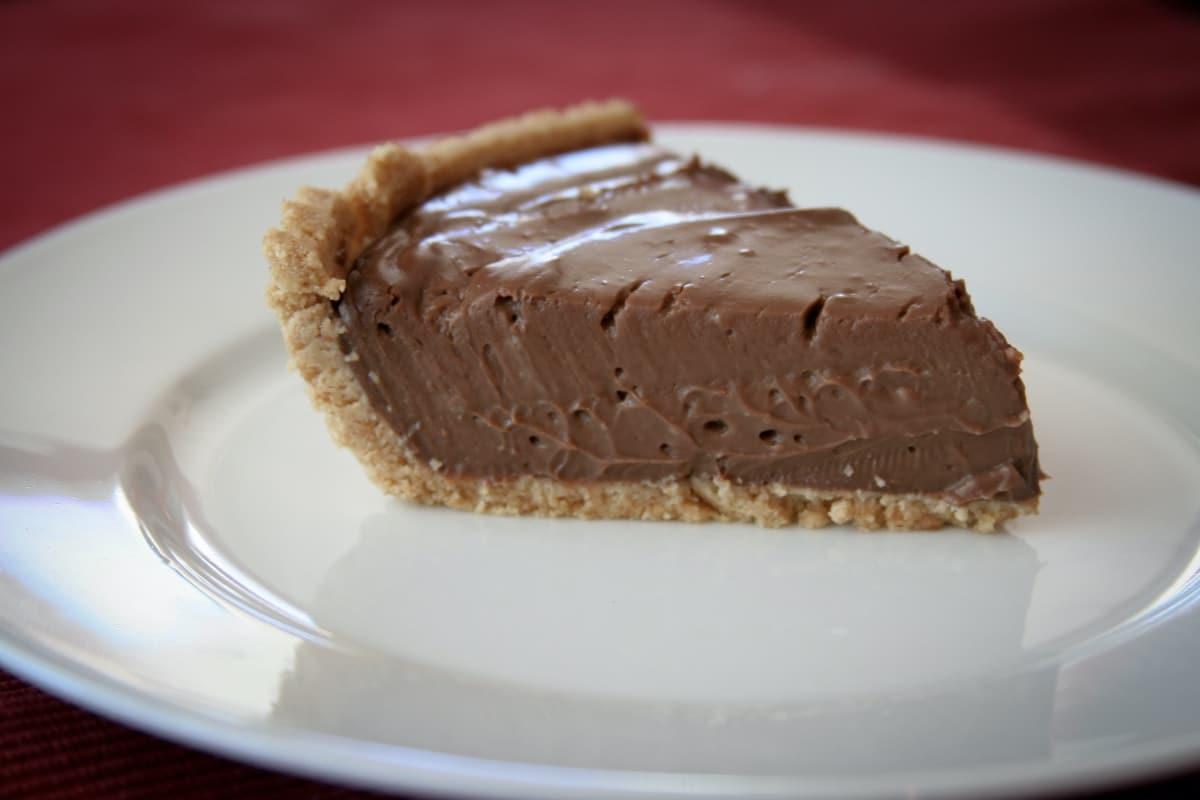 Tarte mousse au chocolat michalak