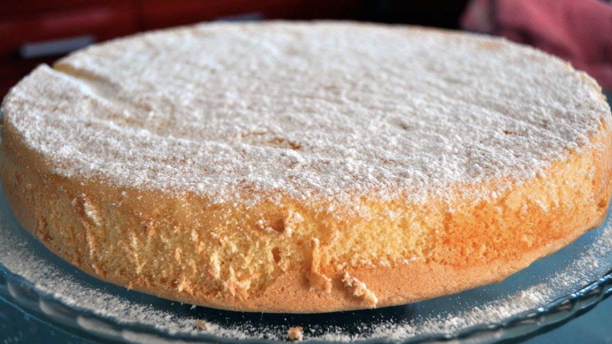 Gâteau spongieux