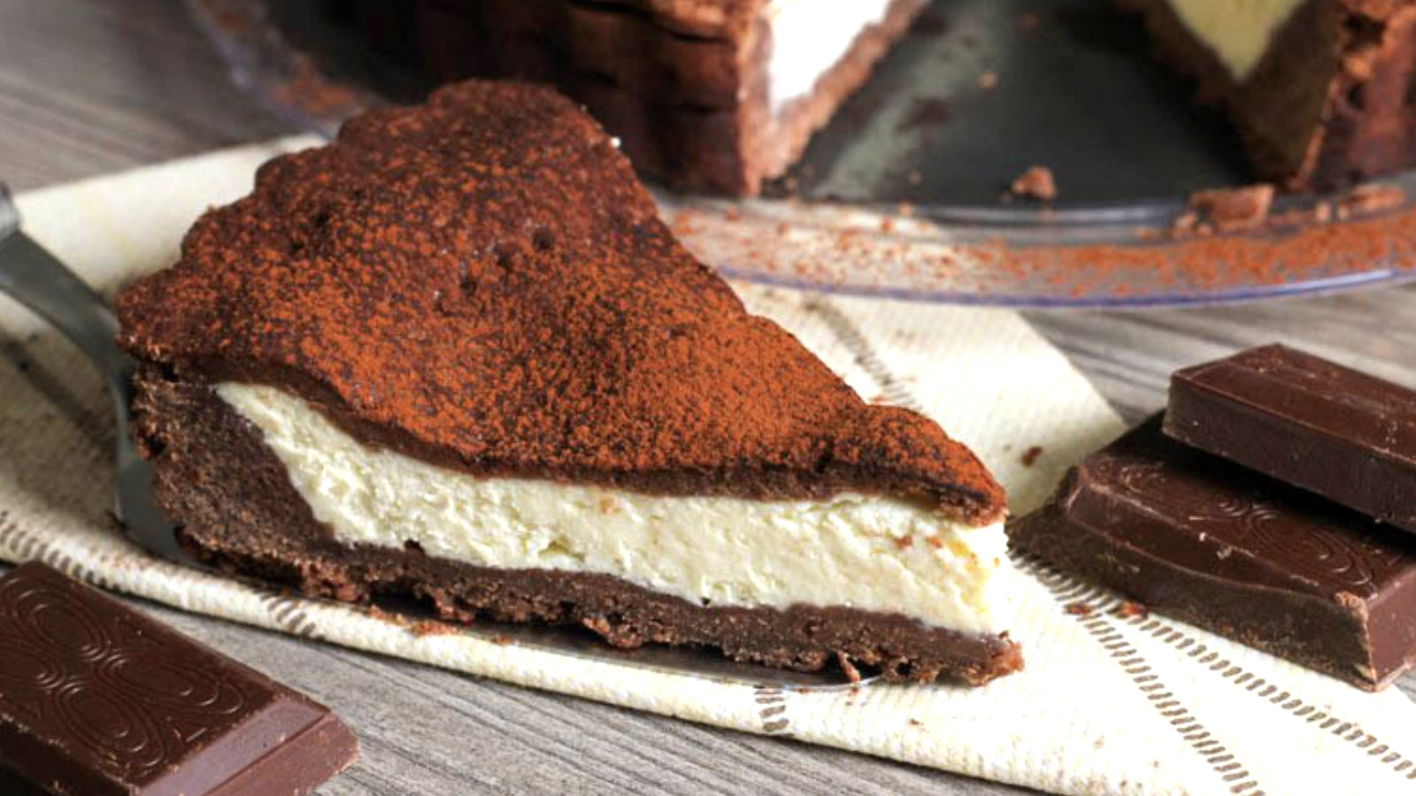 Tarte mascarpone et chocolat