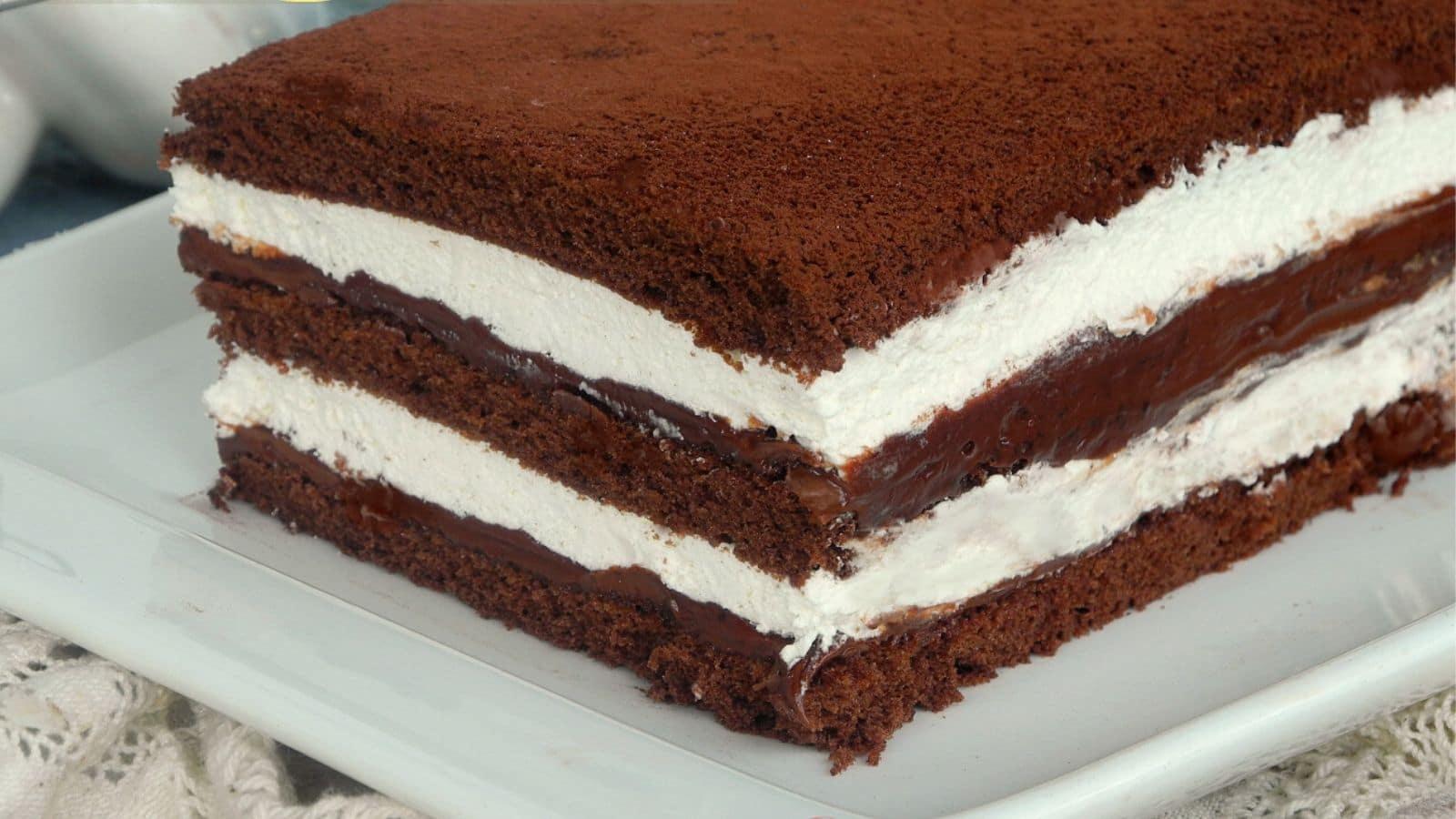 Gâteau aux 3 couches