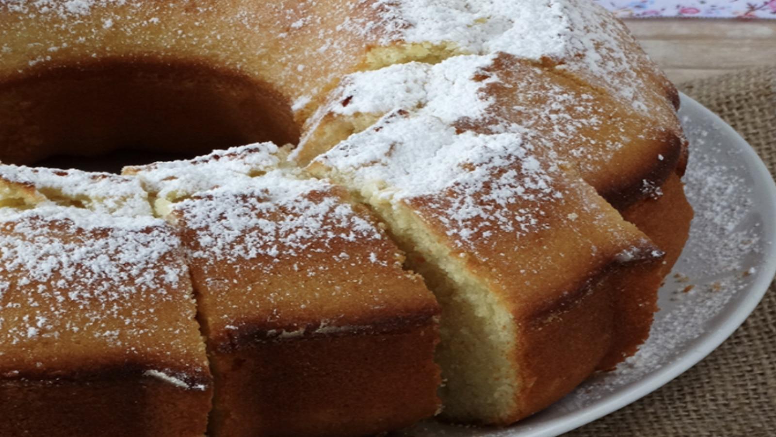 Gâteau couronne au lait