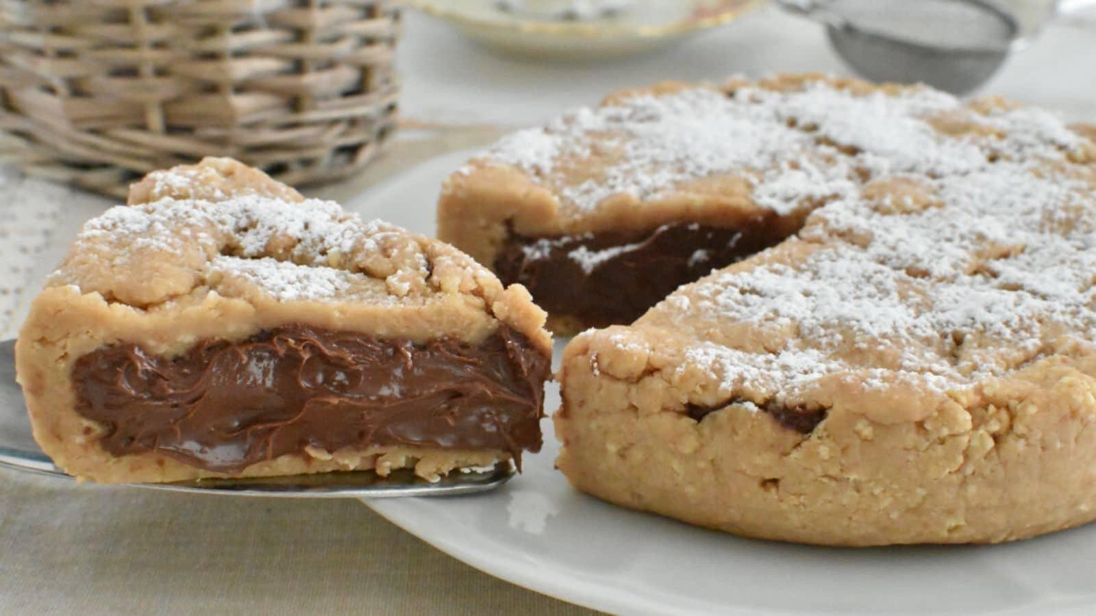 Gâteau Nutella sans cuisson