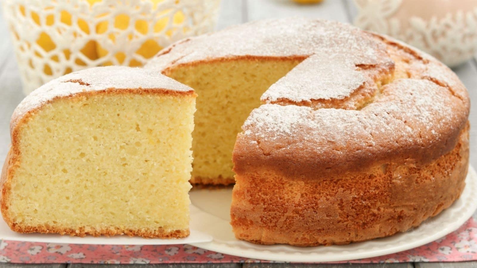 Gâteau super moelleux au citron